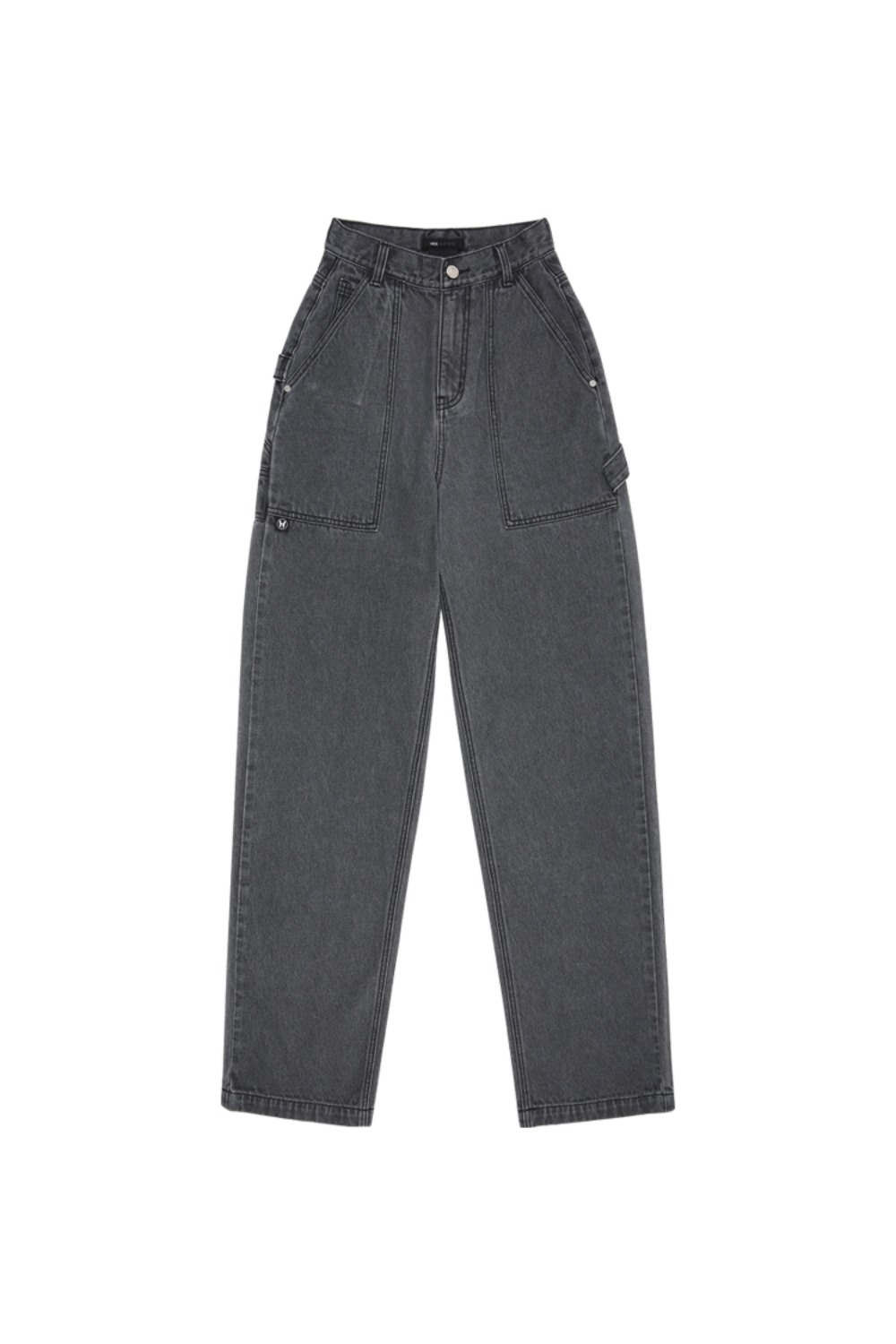 HIDE Out Pocket Denim Pants GREY