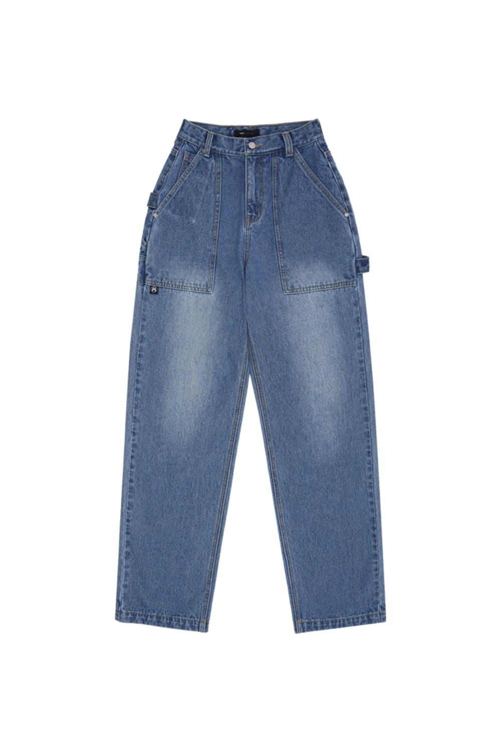 HIDE Out Pocket Denim Pants BLUE
