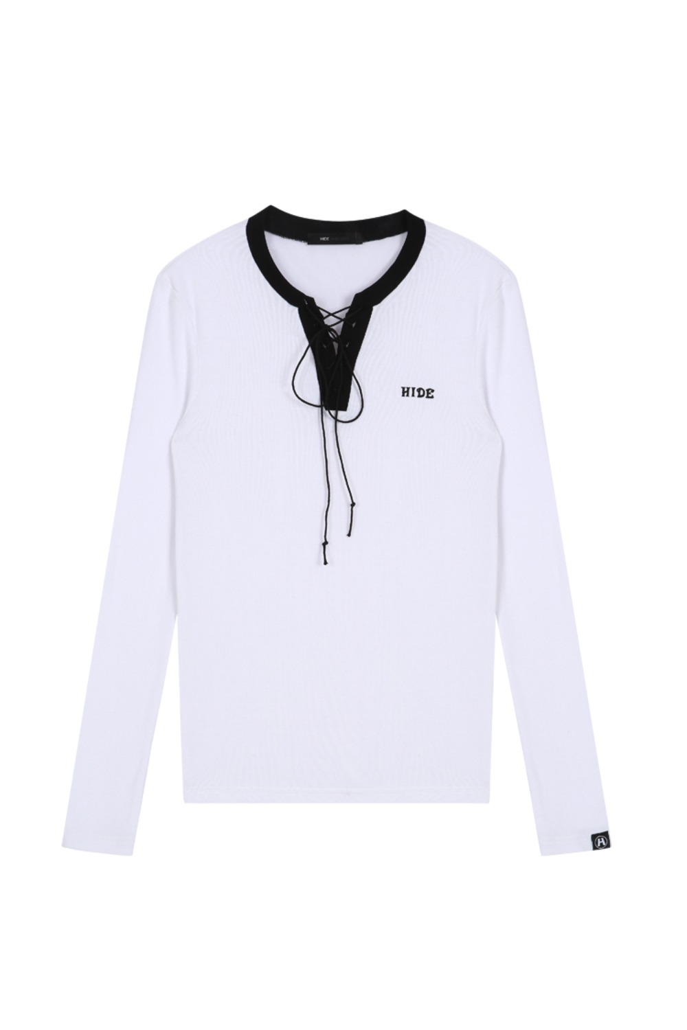 HIDE Laceup T-shirt IVORY
