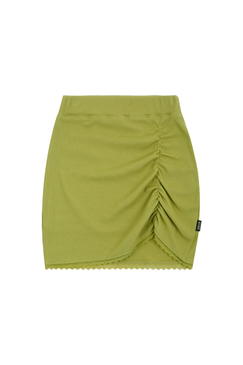 HIDE Lace Skirt OLIVE