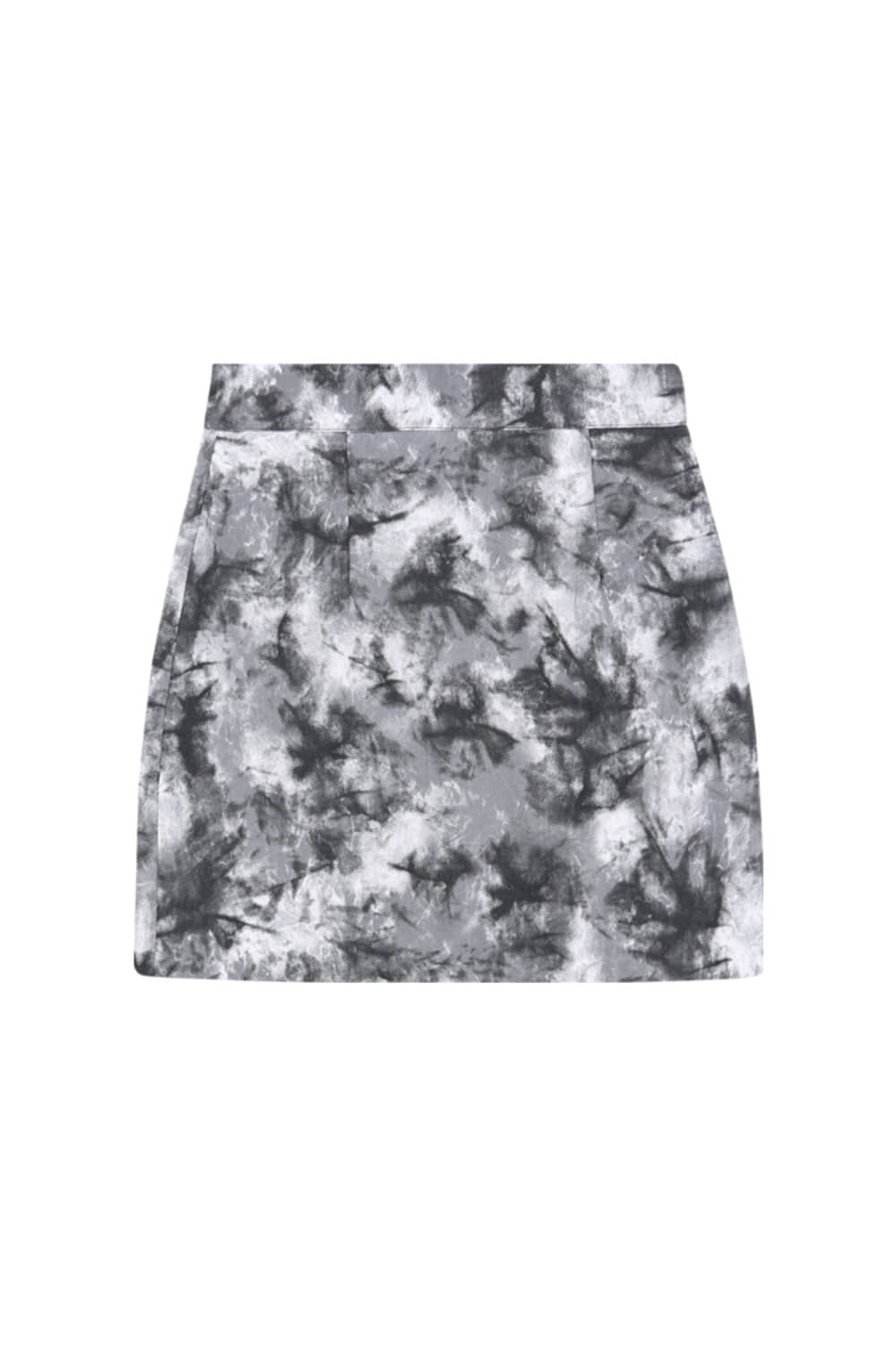 HIDE Tie Dye Skirt BLACK