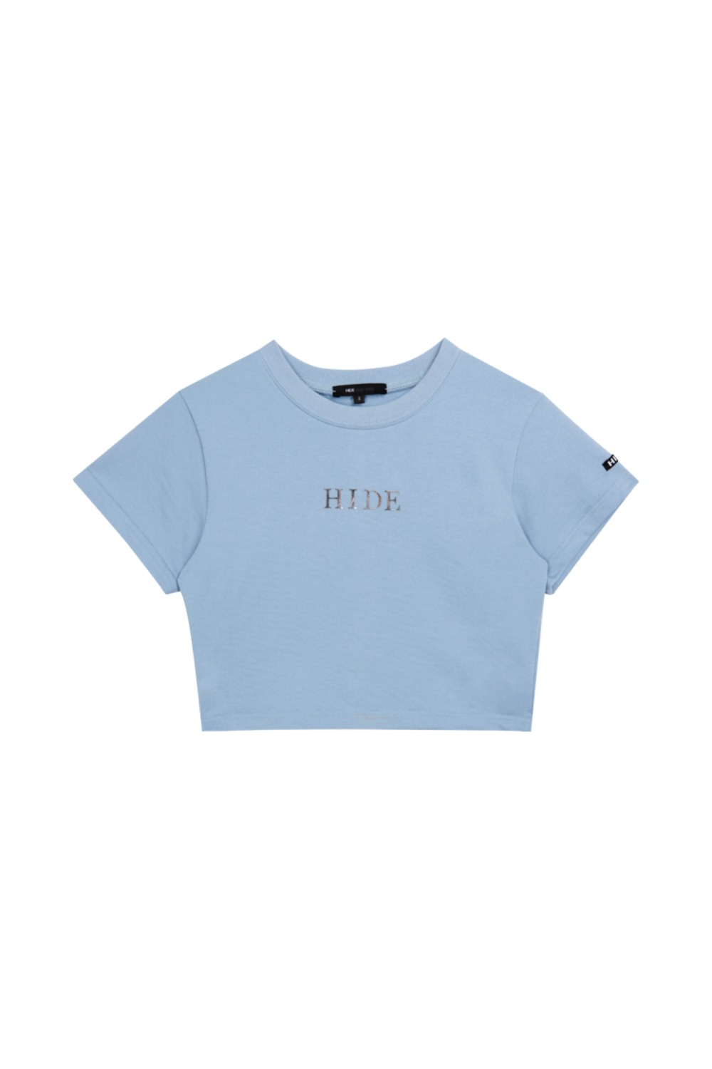 HIDE Mirror Crop Top SKY BLUE