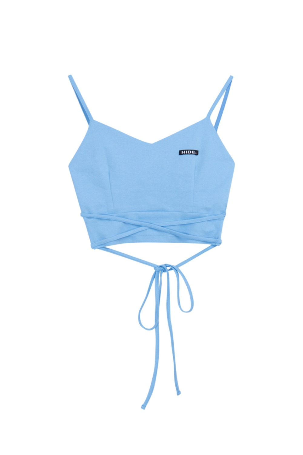 HIDE String Sleeveless Top SKY BLUE