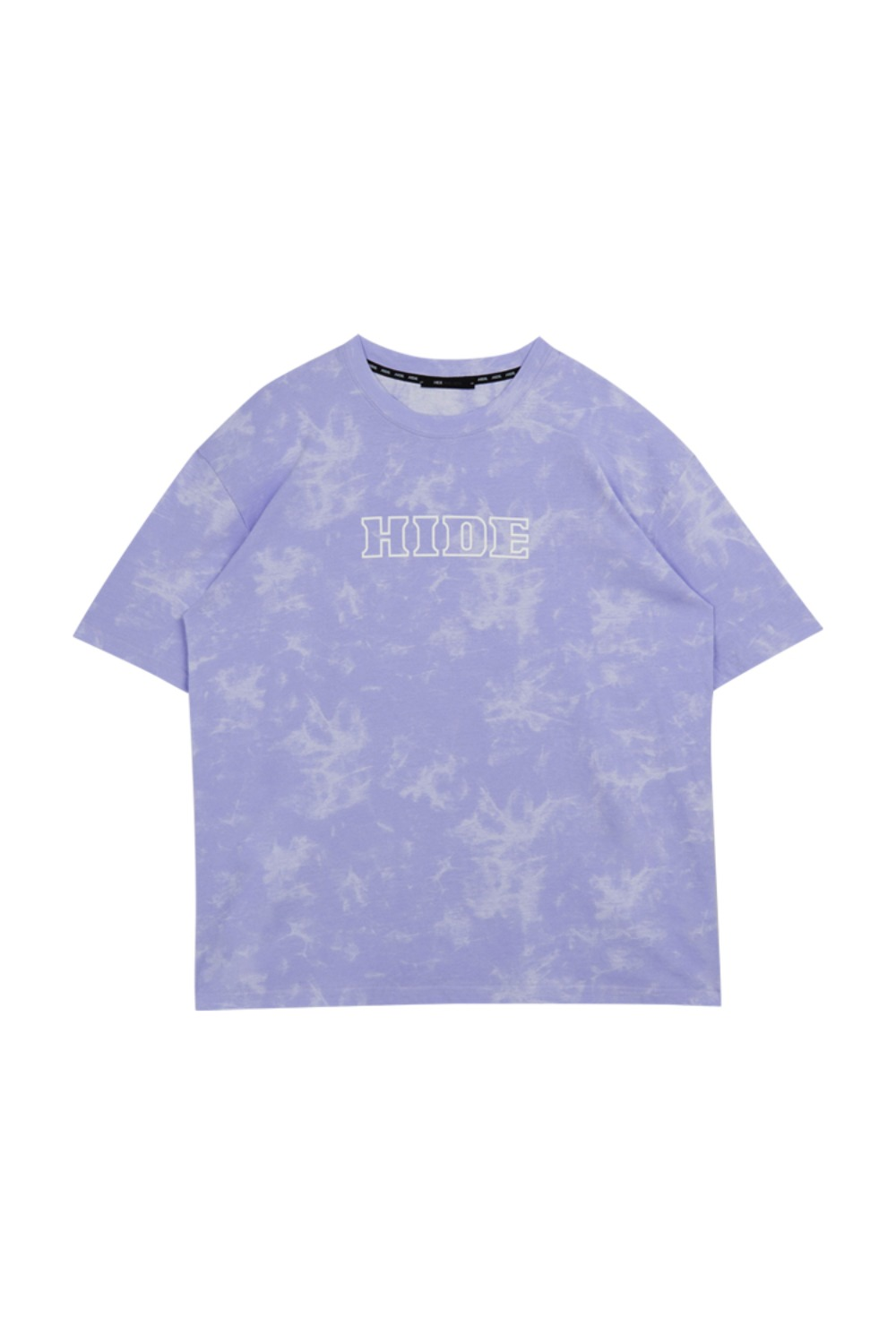 HIDE Tie Dye T-Shirt LIGHT PURPLE