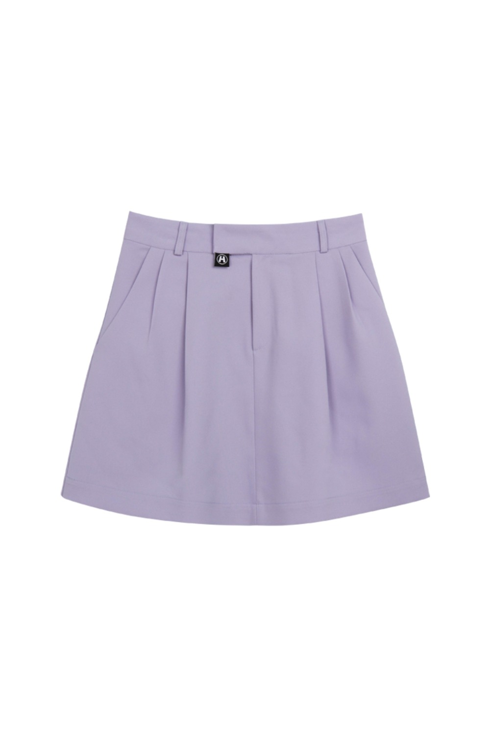 HIDE Pintuck Skirt LIGHT PURPLE