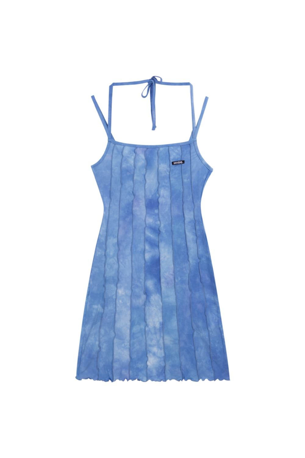 HIDE Lettuce Edge Dress SKY BLUE