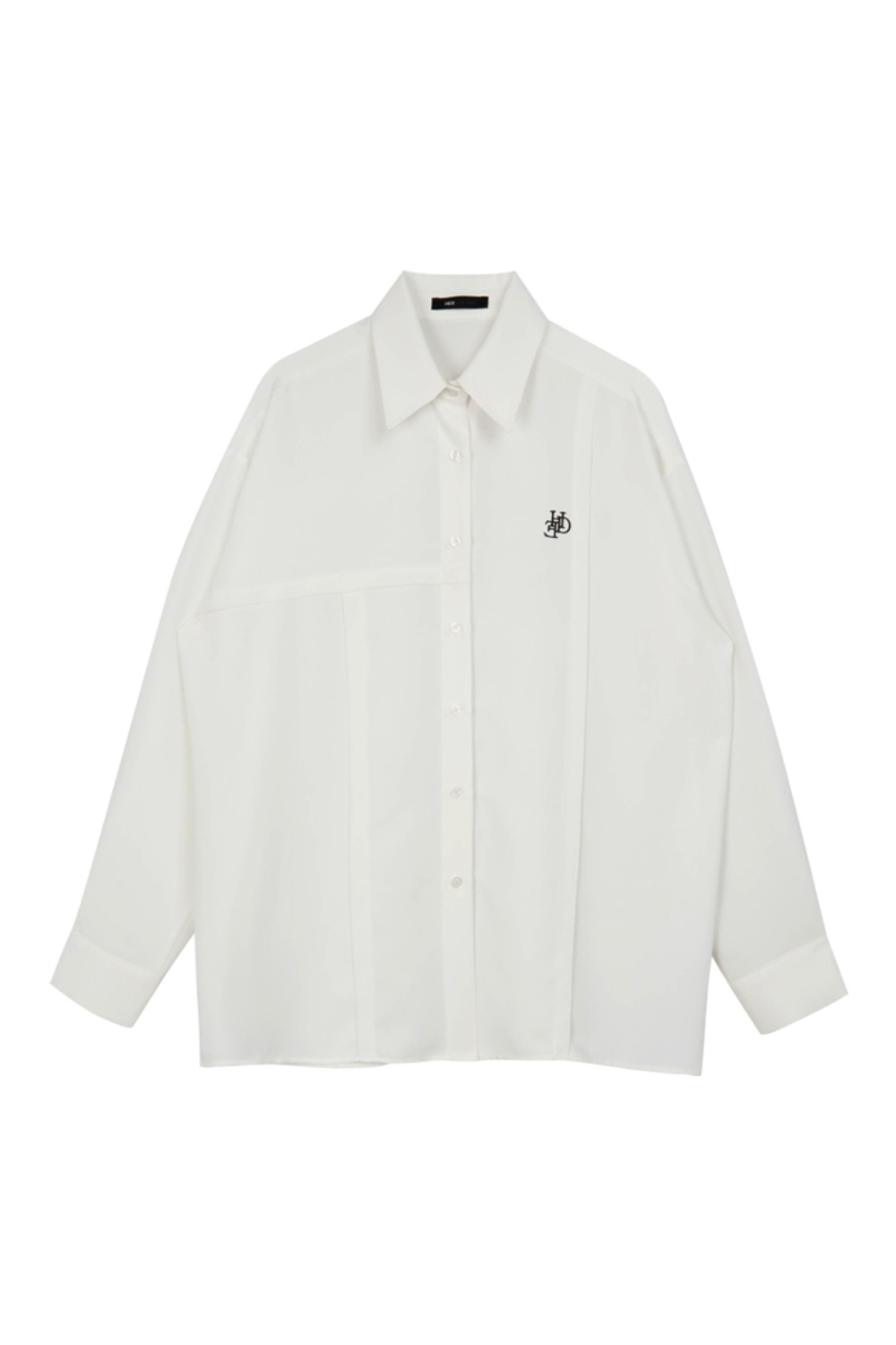 HIDE Logo Cutting Shirt IVORY