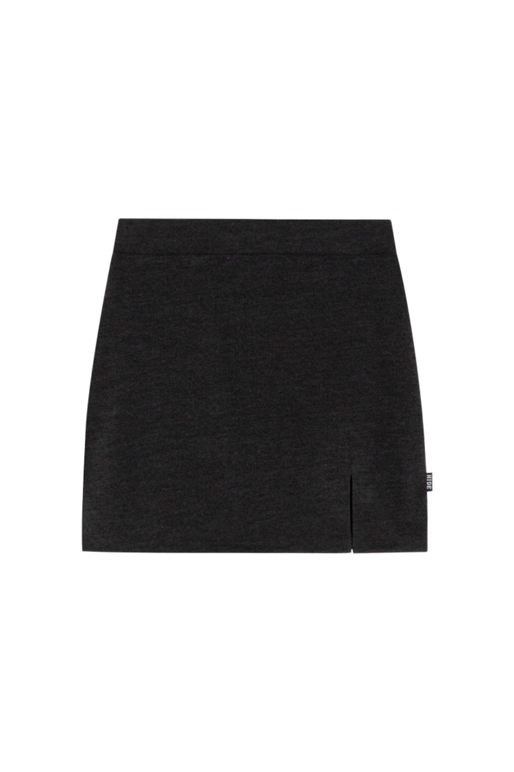 HIDE Slit Skirt BLACK